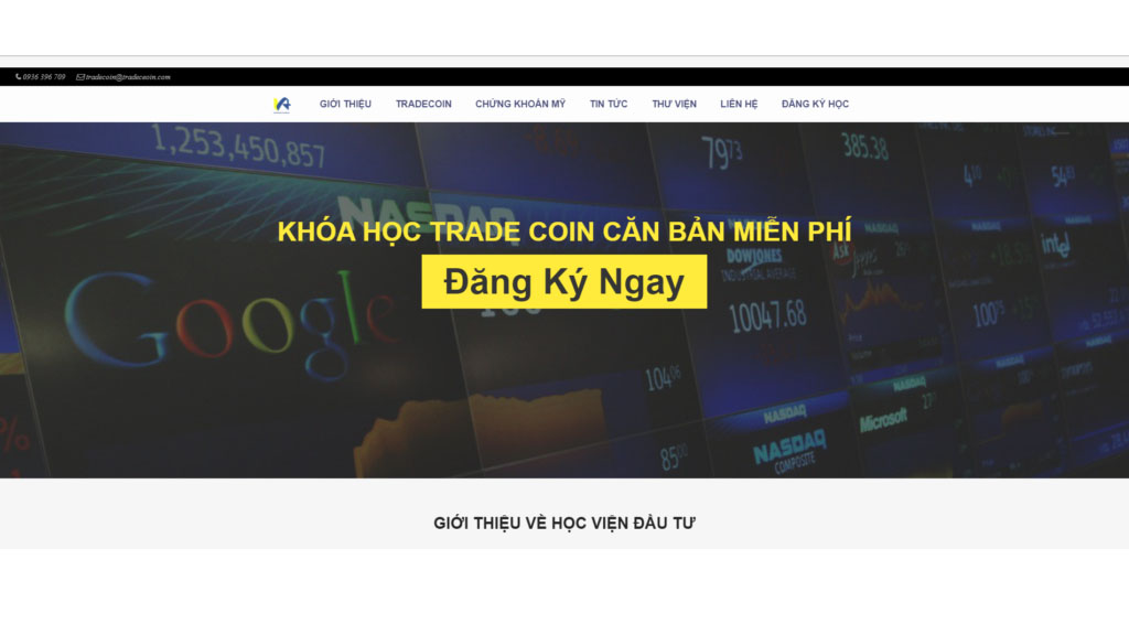 lop hoc tradecoin tai tp hcm