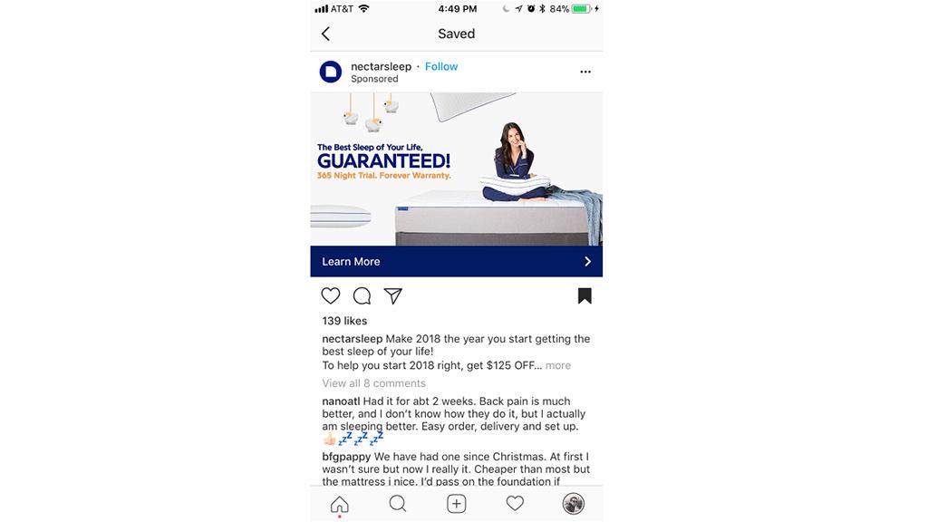 Kích thước hình ảnh Instagram chạy quảng cáo